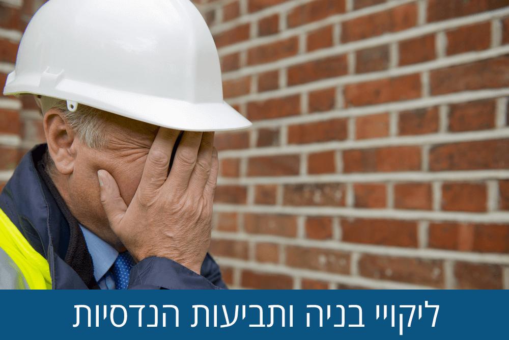 ליקויי בניה ותביעות הנדסיות