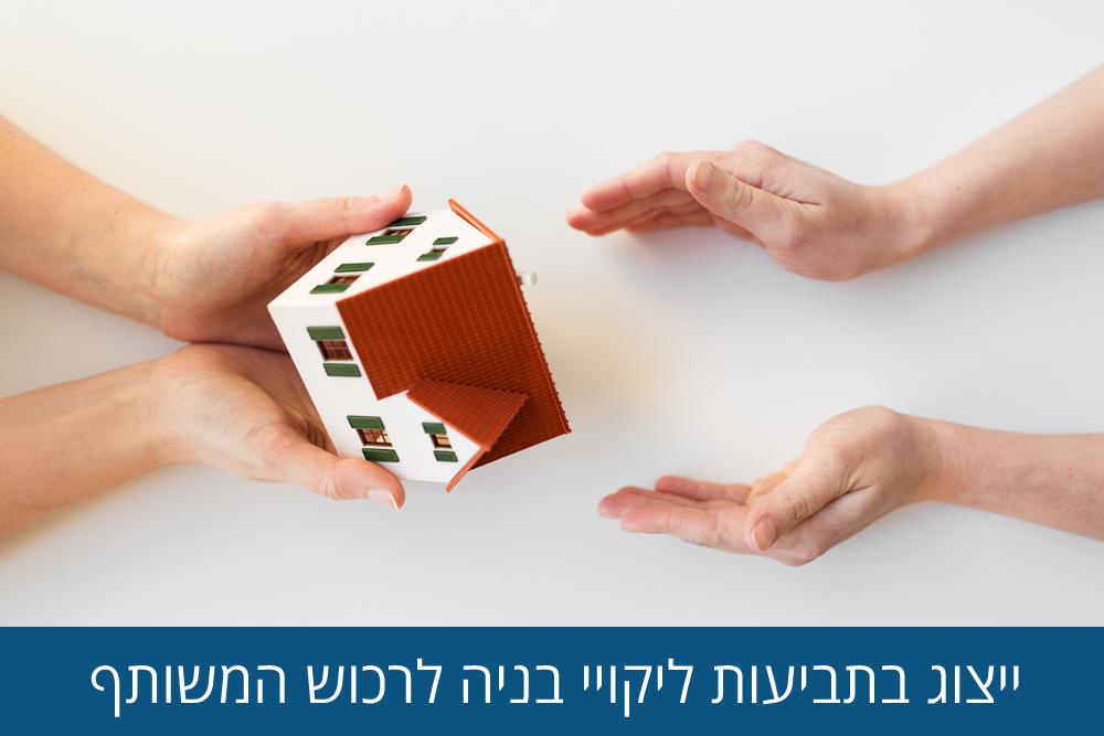 ייצוג בתביעות ליקויי בניה לרכוש המשותף